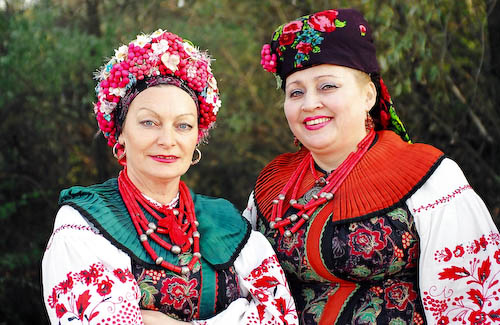 ukrainian traditional clothes  real ukraine